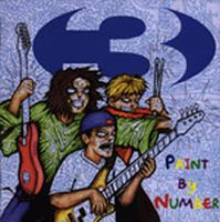 Three - Paint By Number CD (album) cover