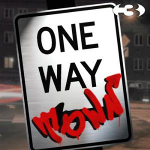 Three - One Way Town CD (album) cover