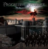Progressivexperience - 21st Century Brain Damage CD (album) cover