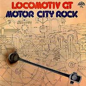 Locomotiv Gt - Motor City Rock CD (album) cover