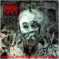 Anata - Under A Stone With No Inscription CD (album) cover