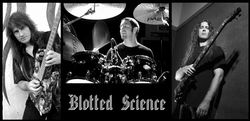 BLOTTED SCIENCE image groupe band picture