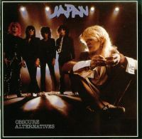 Japan - Obscure Alternatives CD (album) cover