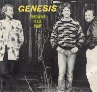 Genesis - Throwing It All Again (single) CD (album) cover