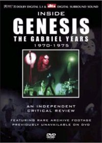 Genesis - Inside Genesis, The Peter Gabriel Years 1970 - 1975 DVD (album) cover