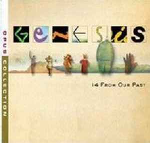 GENESIS - 14 From Our Past CD album cover