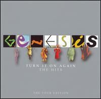 GENESIS - Turn It On Again The Hits -The Tour Edition CD album cover