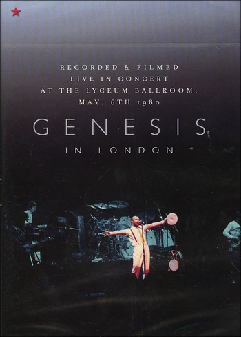 GENESIS - In London CD (album) cover