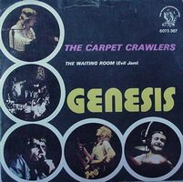 Genesis - The Carpet Crawlers / The Waiting Room CD (album) cover