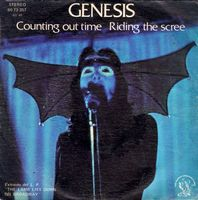 GENESIS - Counting Out Time / Riding The Scree CD album cover