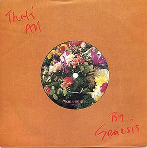 Genesis - That's All CD (album) cover