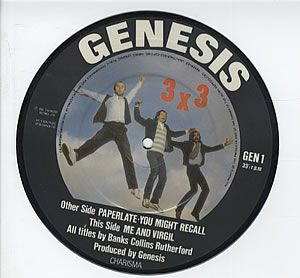 Genesis - Paperlate Picture 7'' CD (album) cover
