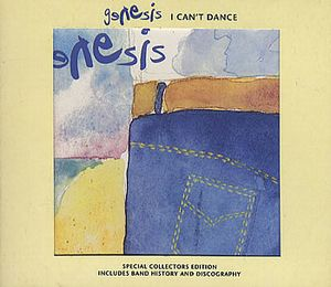 Genesis - I Can't Dance Digipac 5'' Cd Single CD (album) cover
