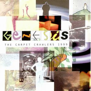 Genesis - The Carpet Crawlers 1999 5'' Promo Cd CD (album) cover