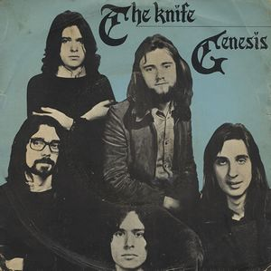 GENESIS - The Knife CD album cover