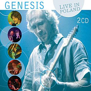 Genesis - Live In Poland CD (album) cover