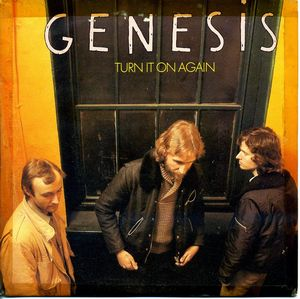 GENESIS - Turn It On Again CD album cover