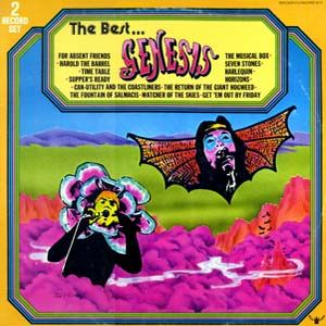 Genesis - The Best... CD (album) cover