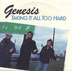 GENESIS - Taking It All Too Hard CD album cover