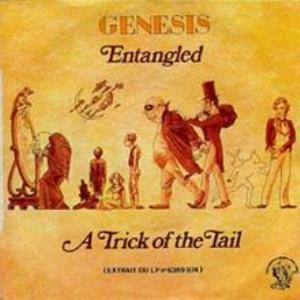 GENESIS - Entangled CD album cover