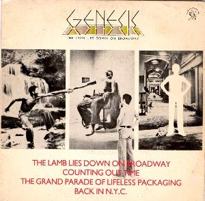 GENESIS - The Lamb Lies Down On Broadway CD album cover