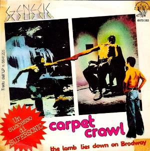 Genesis - The Carpet Crawl CD (album) cover