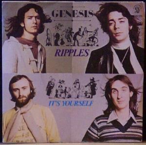 Genesis - Ripples CD (album) cover