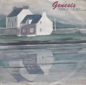 GENESIS - Home By The Sea CD album cover