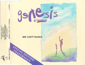 Genesis - We Can't Dance (special Edition Volkswagen) CD (album) cover