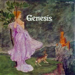GENESIS - Genesis CD album cover