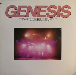 Genesis - Tonight, Tonight, Tonight Exclusive Candid Interview CD (album) cover