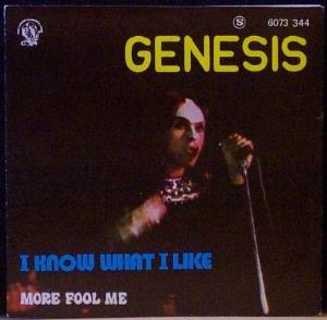 Genesis - I Know What I Like / More Fool Me CD (album) cover