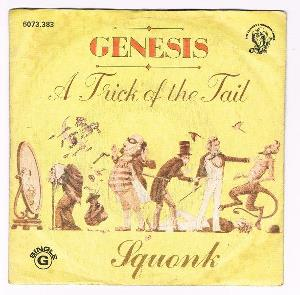 Genesis - A Trick Of The Tail / Squonk CD (album) cover
