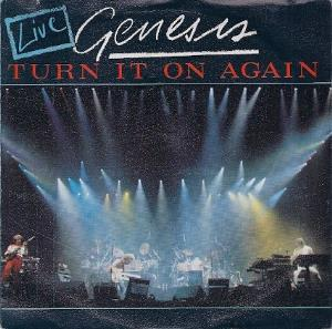 Genesis - Turn It On Again (live) CD (album) cover