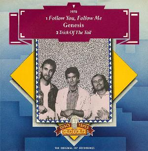 Genesis - Follow You, Follow Me / A Trick Of The Tail CD (album) cover