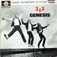 GENESIS - 3 X 3 CD album cover
