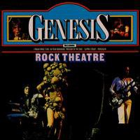 GENESIS - Rock Theatre (collection) CD album cover