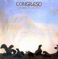 Congreso - Pájaros De Arcilla CD (album) cover