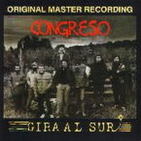 Congreso - Gira Al Sur CD (album) cover