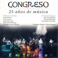 Congreso - 25 Años De Música CD (album) cover
