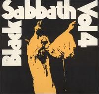 BLACK SABBATH - Volume Four CD album cover
