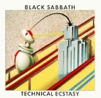 BLACK SABBATH - Technical Ecstasy CD album cover