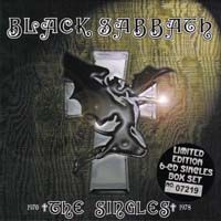 BLACK SABBATH - The Singles 1970-1978 CD album cover