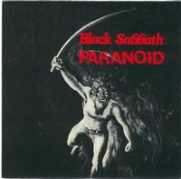 Black Sabbath - Paranoid CD (album) cover