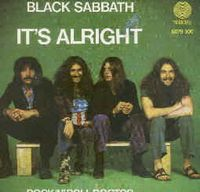 Black Sabbath - It's Alright CD (album) cover