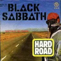 BLACK SABBATH - Hard Road CD album cover