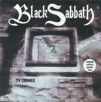 BLACK SABBATH - Tv Crimes CD album cover
