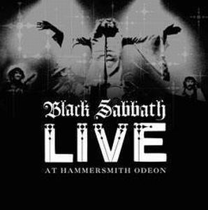 Black Sabbath - Live At Hammersmith Odeon CD (album) cover