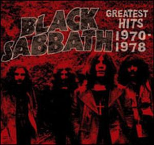 Black Sabbath - Greatest Hits 1970-1978 CD (album) cover