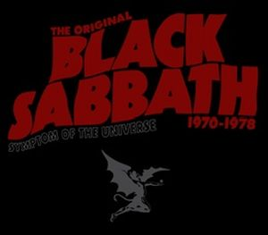 Black Sabbath - Symptom Of The Universe CD (album) cover